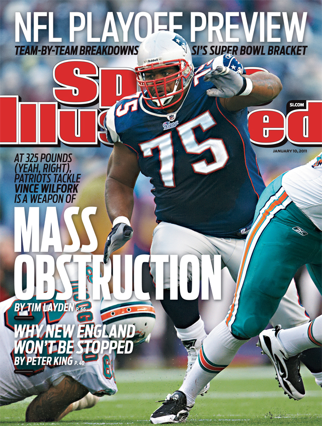 Vince Wilfork Becomes First Defensive Tackle on Sports Illustrated Cover Since 2008