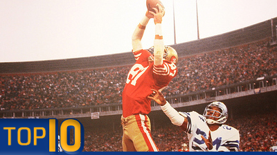 Top 10 Plays in NFL Playoff History
