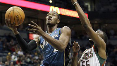 John Wall's Rookie Career Takes Surprising Downturn As Wizards Battle Losing Record