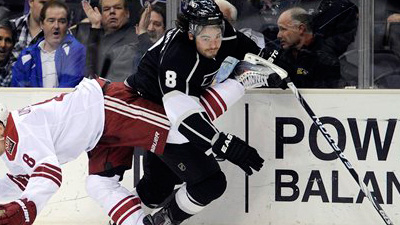 Drew Doughty, Jack Johnson Lead Stingy Kings Defense, Pose Royal Challenge to Bruins' Attack