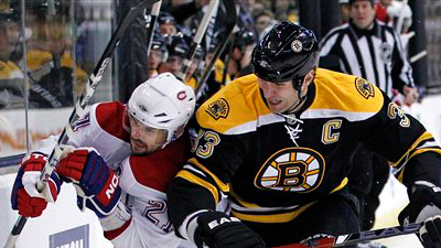 Michael Ryder Scores Two Goals As Bruins Skate Away With Wild 8-6 Win Over Canadiens