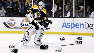 Wild Win for Bruins Over Hated Canadiens Thrills Garden Crowd, Players Alike