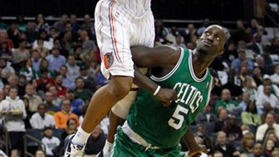 Kevin Garnett Likely to Respond on TD Garden Court to Phil Jackson's Verbal Jab