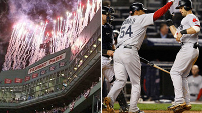 Is Opening Day Win Over Yankees or Comeback Win in New York the Better Red Sox Game That Aired on NESN in 2010