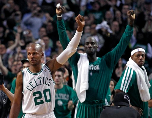 Ray Allen Celebrates NBA's All-Time 3-Point Record With Modesty, Grace