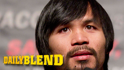 Manny Pacquiao Shows Off Justin Bieber-Style Haircut in Las Vegas
