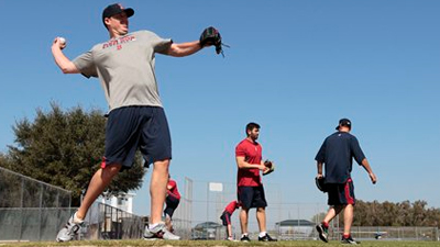 John Lackey Slimmed Down and Fired Up, Reaches New Comfort Level at Second Red Sox Camp