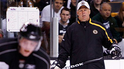 Claude Julien Taking Advantage of Versatility of Newcomers Rich Peverley, Chris Kelly
