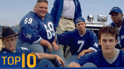 'Varsity Blues,''Rudy,''Any Given Sunday' Among Top 10 Football Movies of All Time