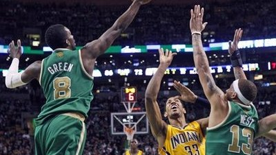 Delonte West Returns to Join Forces With Jeff Green Solidifying Celtics Bench in Win Over Pacers