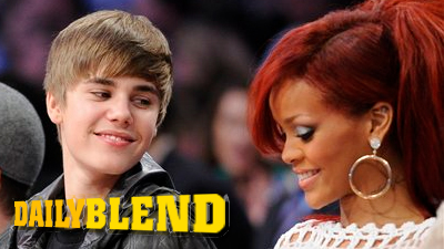Justin Bieber Gazes Lovingly at Rihanna, Who's More Focused on Texting at NBA All-Star Game