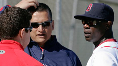 Mike Cameron, Jason Varitek, Jed Lowrie Give Terry Francona Surplus of Bench Options Against Lefties