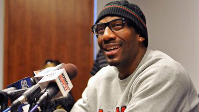 Amare Stoudemire Says 'The Knicks Are Back' With Addition of Carmelo Anthony