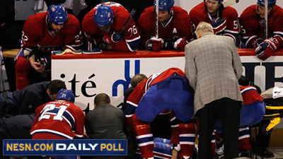 Vote: Was Zdeno Chara's Hit on Max Pacioretty Clean or Dirty?