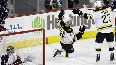Bruins Snap Four-Game Losing Streak With 3-2 Shootout Win Over Blue Jackets