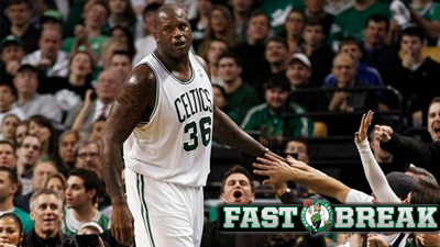 Shaquille O'Neal Nears Long-Awaited Return From Achilles Injury and Six Other Celtics Thoughts