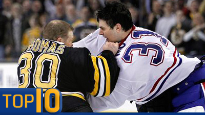 Chris Nilan, Carey Price Among Top 10 Canadiens Villains in Historic Rivalry With Bruins