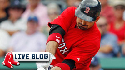 Red Sox Live Blog: Josh Beckett, Jarrod Saltalamacchia Lead Red Sox to Rout of Astros in Spring Training Finale
