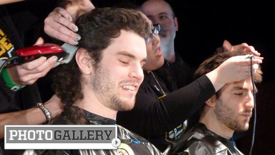 Adam McQuaid Rocks Mullet at Fourth Annual Cuts for a Cause, Helps Raise Big Money for Kids (Photos)