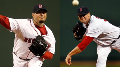 Who Was the Amica Pitcher of the Week for Red Sox Against Yankees and Rays?