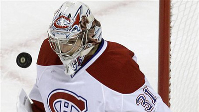 Carey Price Makes 31 Saves As Canadiens Blank Bruins 2-0 in Game 1 at TD Garden