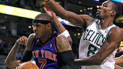 Celtics Dominated by Carmelo Anthony, But Escape With Dramatic Win Over Knicks in Game 2