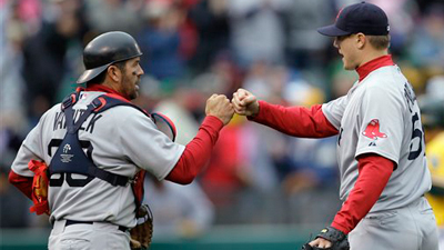 Red Sox Hitters Get to Oakland's Gio Gonzalez As Red Sox Salvage Split With A's