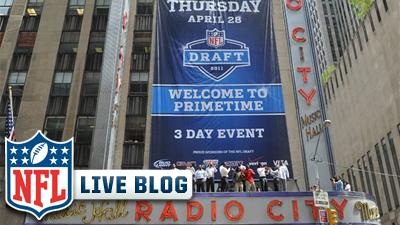 NFL Draft Live Blog: Patriots Add Nate Solder, Set Themselves Up For Future Moves