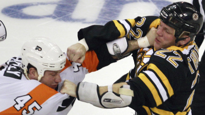 Bruins-Flyers Series Evenly Matched, Has Makings of Another Classic Seven-Game Slugfest