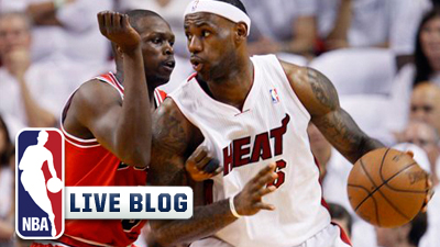 Bulls-Heat Live Blog: LeBron, Mike Miller Charge Heat to 101-93 Overtime Win