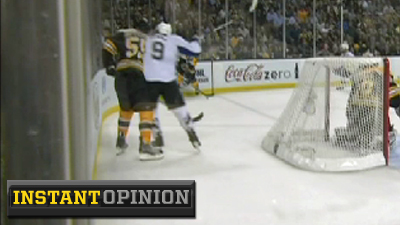 Steve Downie's Cheap Shot on Johnny Boychuk Should Earn Lightning Winger a Suspension for Game 6