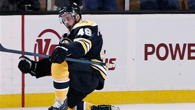 Nathan Horton Provides Inspiration and Surprise Visit, While Rich Peverley Supplies Goals in His Place Sparking Bruins Win
