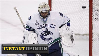 Canucks Blog Irrationally Claims Roberto Luongo's 2004 World Cup of Hockey Win Among Things That Matter in Game 7