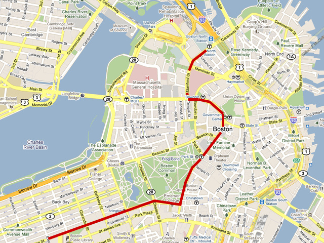 Boston Stanley Cup Parade Route Released: Duck Boats to Start at TD Garden, End in Copley Square