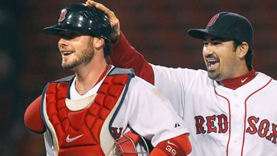 Jarrod Saltalamacchia, J.D. Drew Return to Red Sox Lineup to Face Padres Starter Mat Latos