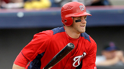 Washington Nationals Minor Leaguer Bryce Harper Promoted to Double-A