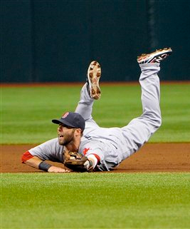 Dustin Pedroia Earns New Nickname as 'The Muddy Chicken' in Red Sox' Marathon Win Over Rays