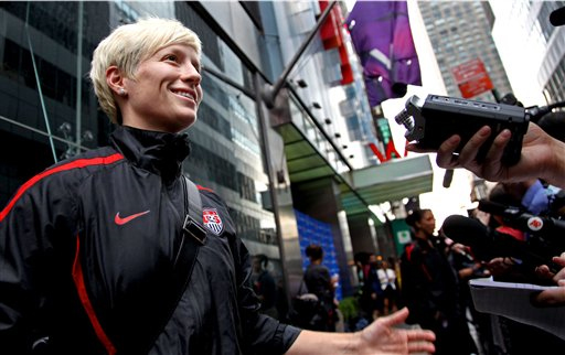 Hope Solo, U.S. Women's Soccer Team Given Hero's Welcome, Despite Losing