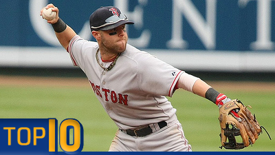 Top 10 All-Out Effort Athletes List Includes Hot-Hitting Dustin Pedroia