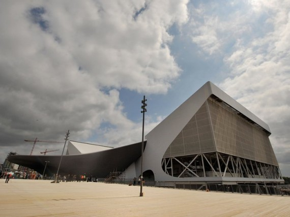 London Olympic Venues, Village Starting to Take Form As Construction Continues in Preparation for 2012 Games