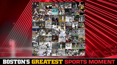 Boston's Greatest Sports Moment Final Pits Red Sox' Curse-Busting World Series Against Bobby Orr's Flying Goal