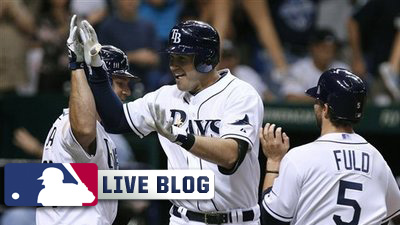 Rays-Yankees Live Blog: Evan Longoria's Walk-Off Home Run in 12th Gives Rays American League Wild Card