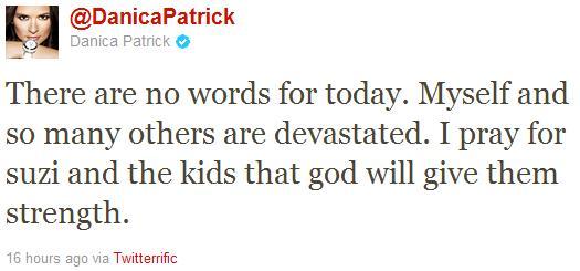 Dan Wheldon's Death Draws Shock From Big-Name Racing Personalities on Twitter