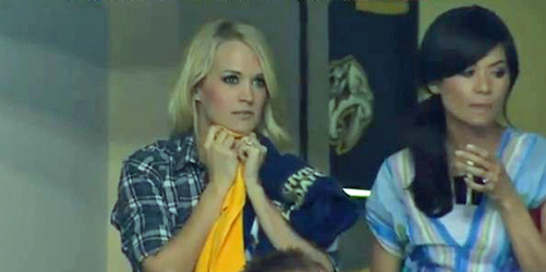 Carrie Underwood Offers Hockey Fans Emotional Ride During Husband Mike Fisher's Fight With Ryan Getzlaf