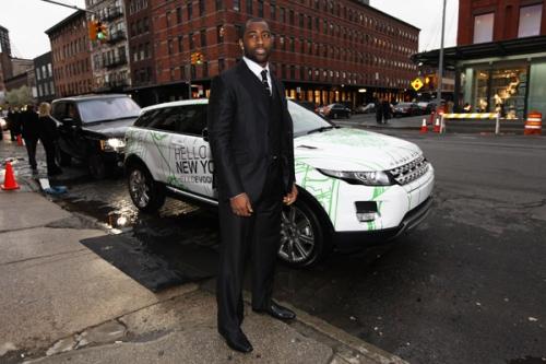 Darrelle Revis, Serena Williams Spotted With New Range Rover Evoque