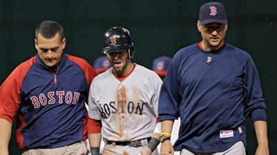 Dustin Pedroia's Injury Scare Just One Part of Painful Finish for Red Sox