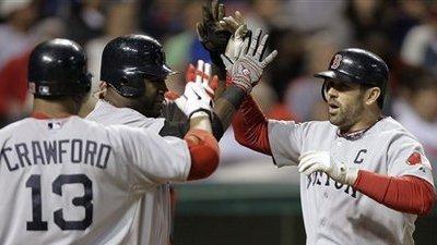 Josh Beckett Ends Progressive Field Drought, Red Sox Defeat Indians 4-2
