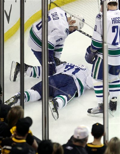 Johnny Boychuk's Hit on Mason Raymond to Blame for Canucks' Offensive Woes, According to Tony Gallagher