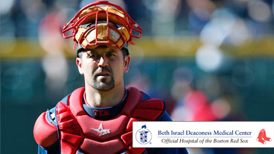 Jason Varitek Relies on Exercise, Stretching, Ice to Keep Knees in Tip-Top Shape Over the Years