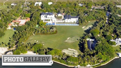 Tiger Woods Set to Move Into His $55 Million Jupiter Island Bachelor Pad With Private Course (Photos)